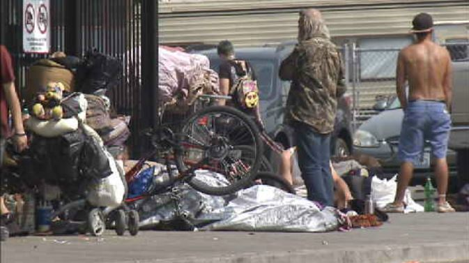 Employees, business owners petition against homeless housing in Spokane