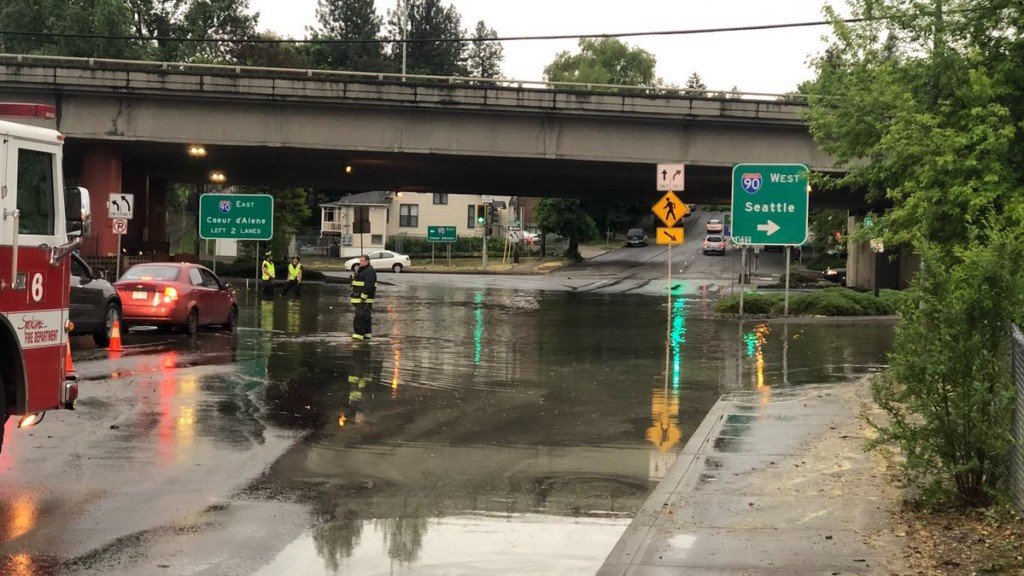 Here's a recap of the flooding that swept through the Inland Northwest