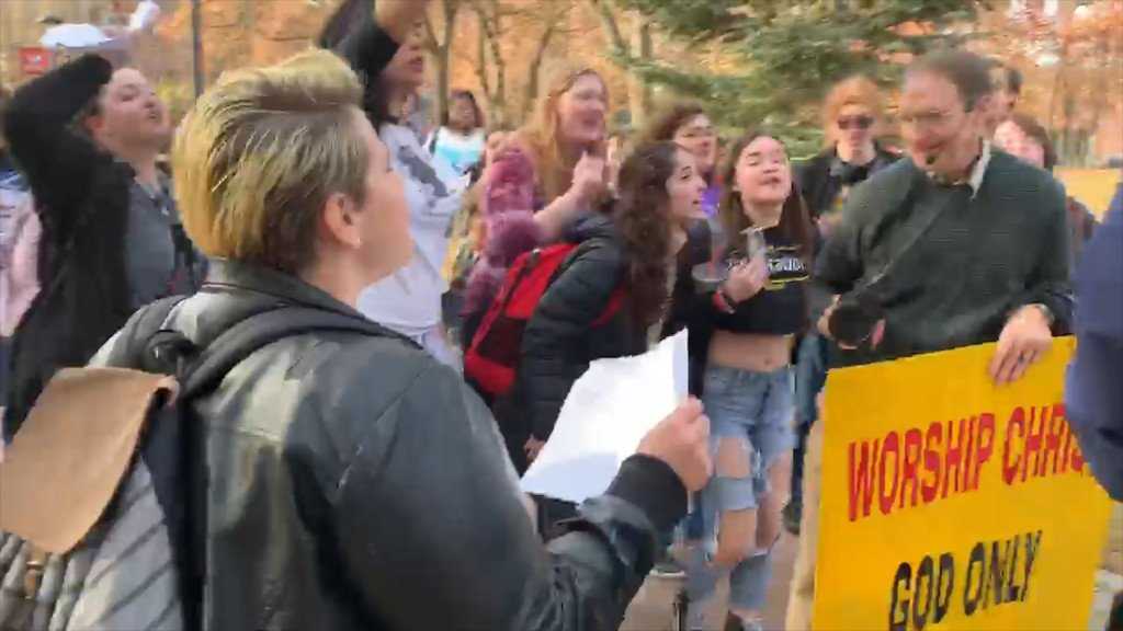 Protest erupts at Eastern Washington University