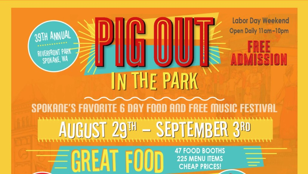 Pig Out in the Park starts Wednesday