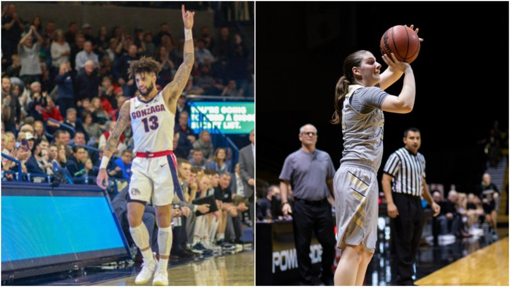 Gonzaga's Perkins, Idaho's Pierce added to 3-point contest