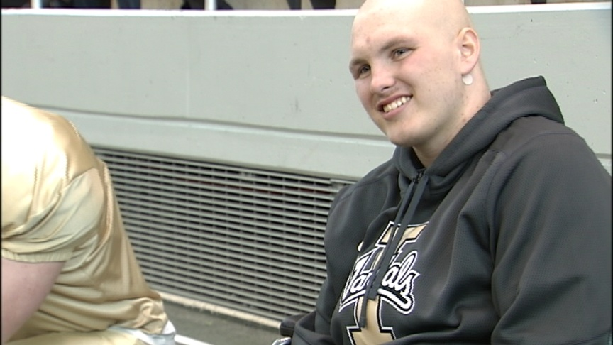 Malek Leans On New Team In Battle With Cancer