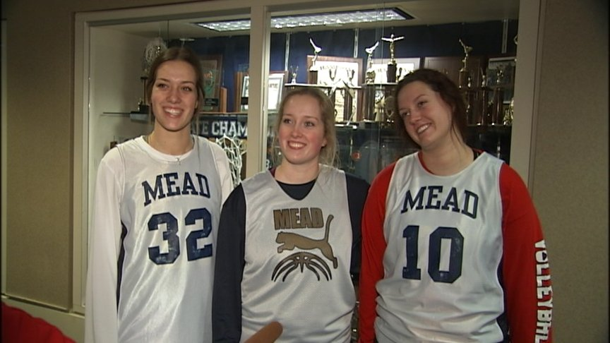 Triplets at Mead High are Dual-Sport Athletes