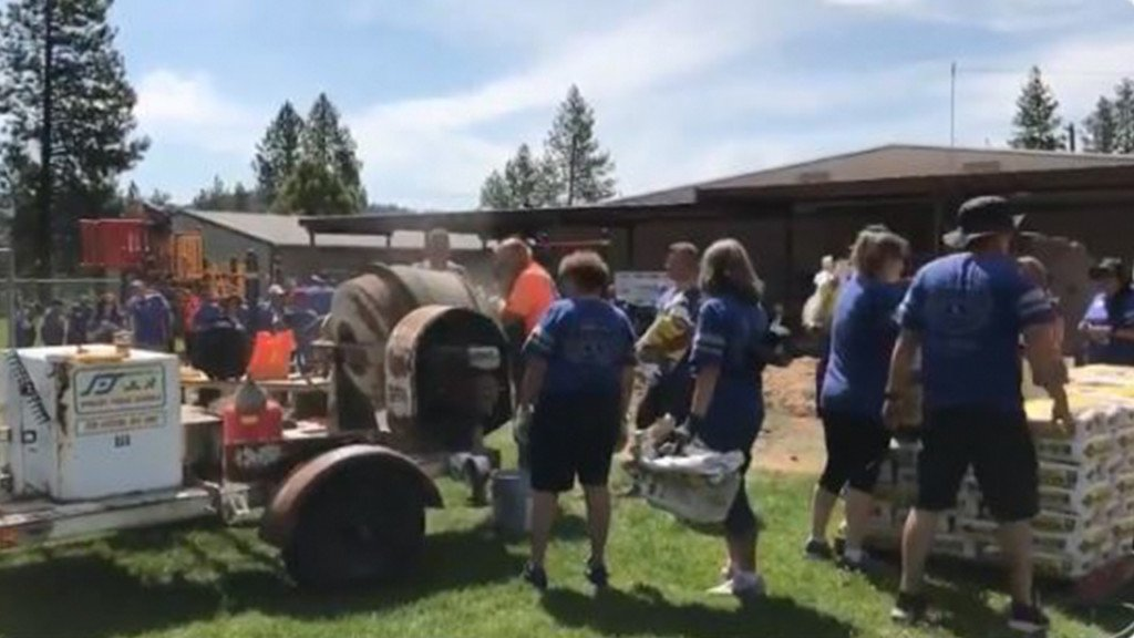 Spokane elementary school gets new playground