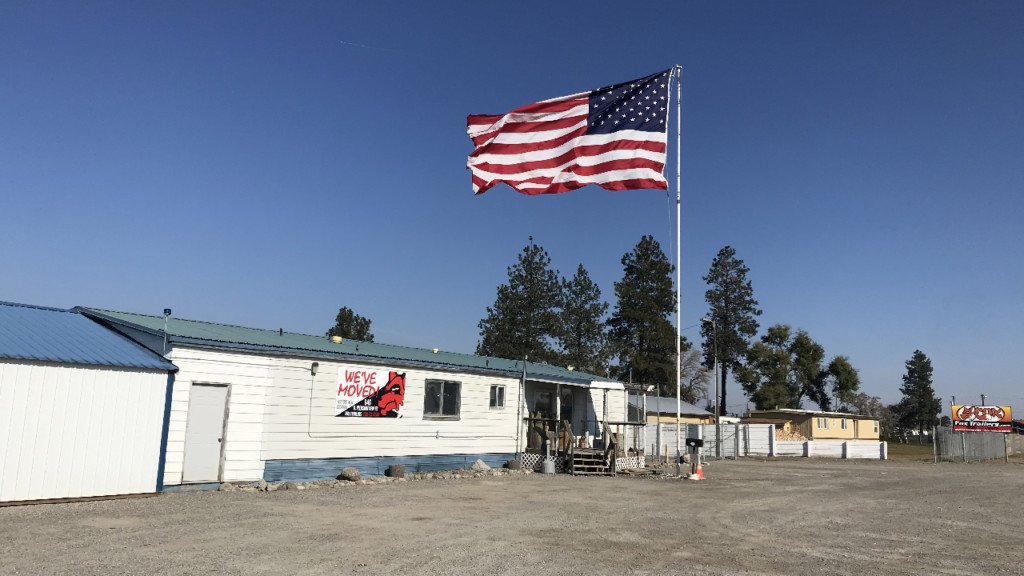 City regulations prevent man from flying big American flag outside his business