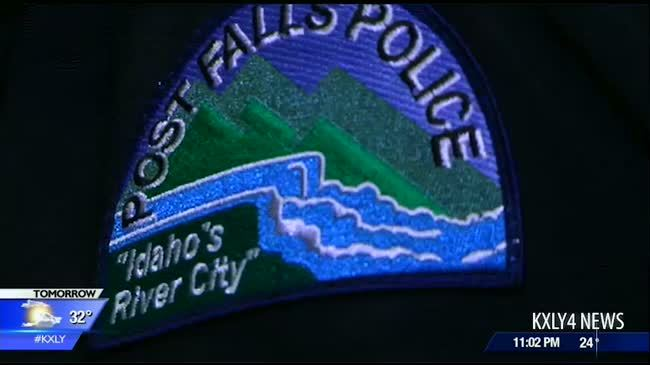 Post Falls Police to carry American flags to honor deceased veterans