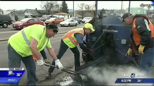 Pothole repair products in the works