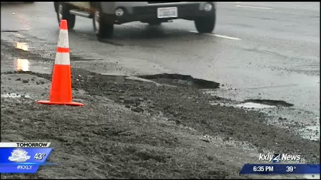 Potholes wreaking havoc on Division