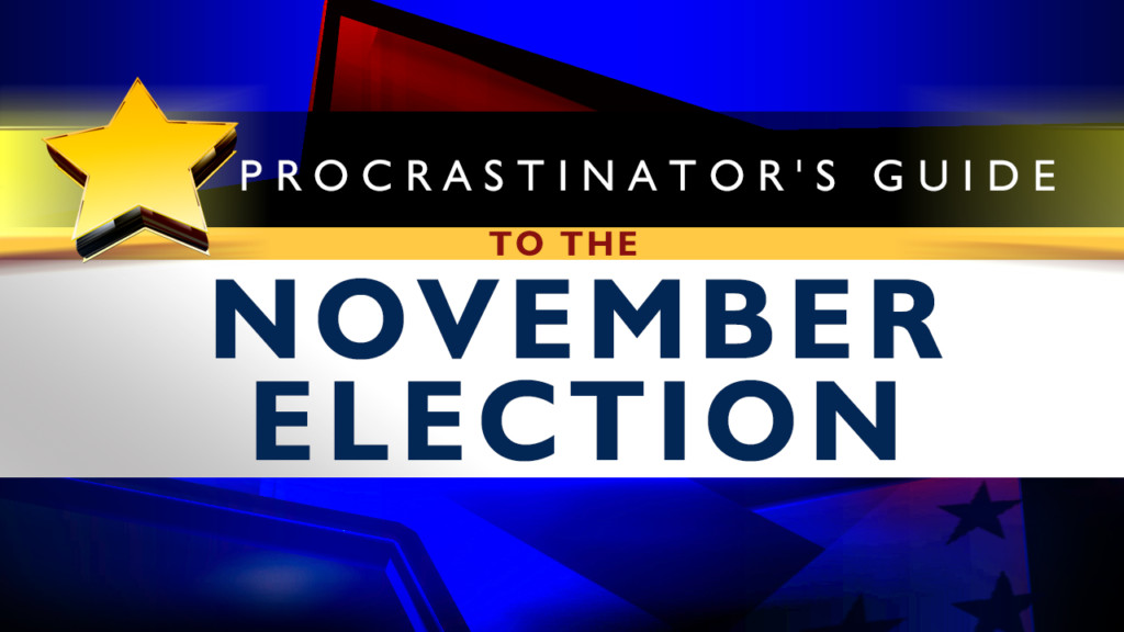 It's not too late to get informed for Election Day!