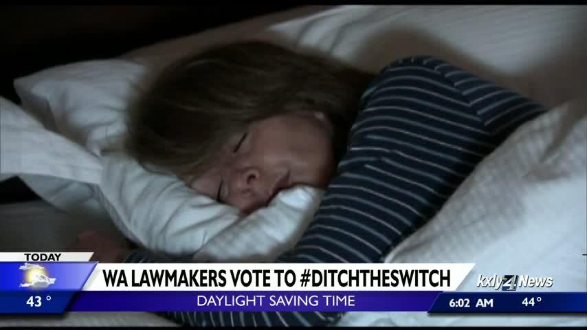 "Washington lawmakers approve bill to ""Ditch the Switch,"" opt into year-round daylight saving"