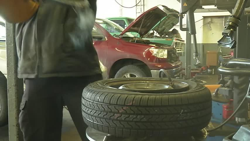 Proposed bill would take studded tires off the shelves by 2025