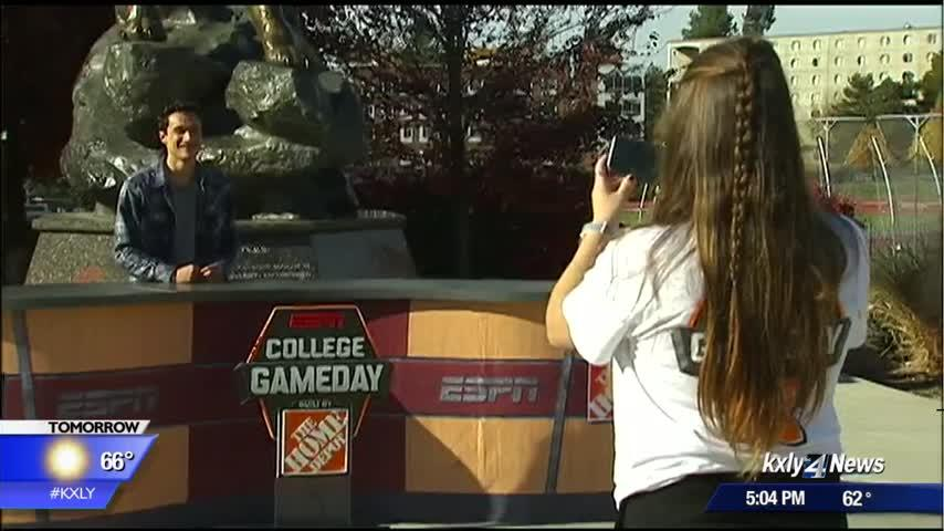 Pullman pulls out all the stops for College GameDay