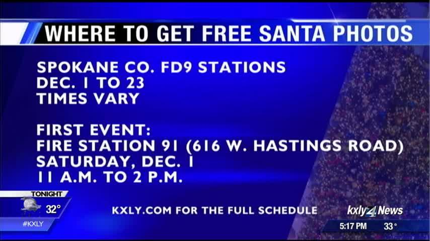 Put the Happy Back In Your Holidays: Where to get free photos with Santa