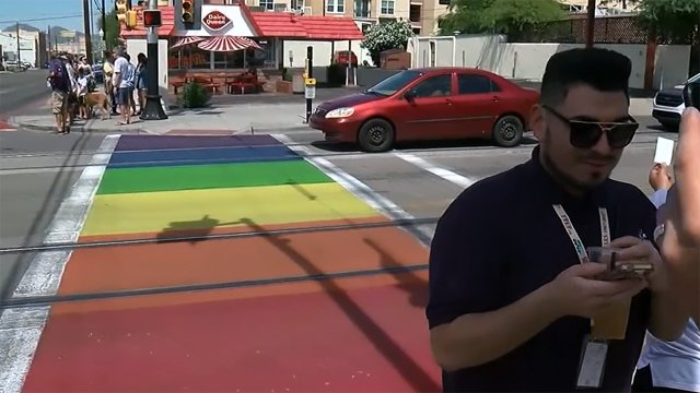 Rainbow sidewalks could be coming to Spokane