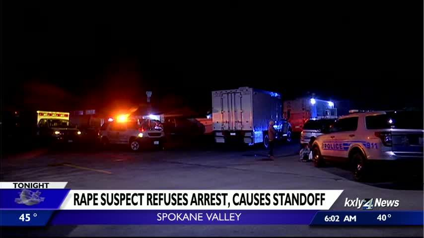 SWAT team, two K9s used to take rape suspect into custody in Spokane Valley standoff