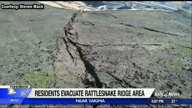 Rattlesnake Ridge 'event' could happen as soon as Sunday, geologists say