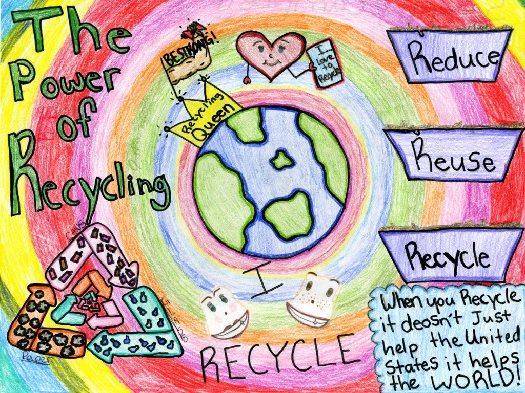 Local kids draw attention to recycling with new calendar