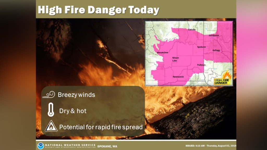 Red Flag Warning to go into effect today