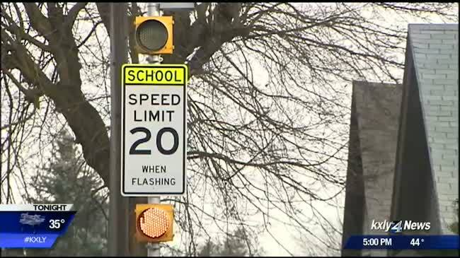 Regal Elementary's speed cam study