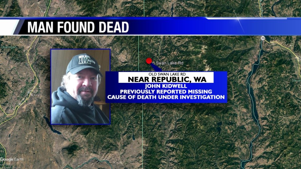 Man who had been reported missing found dead near Republic