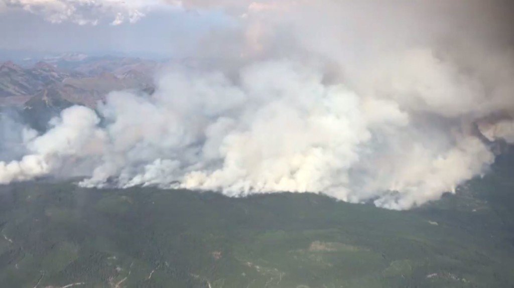 Rice Ridge Fire continues to grow, nearing 120,000 acres