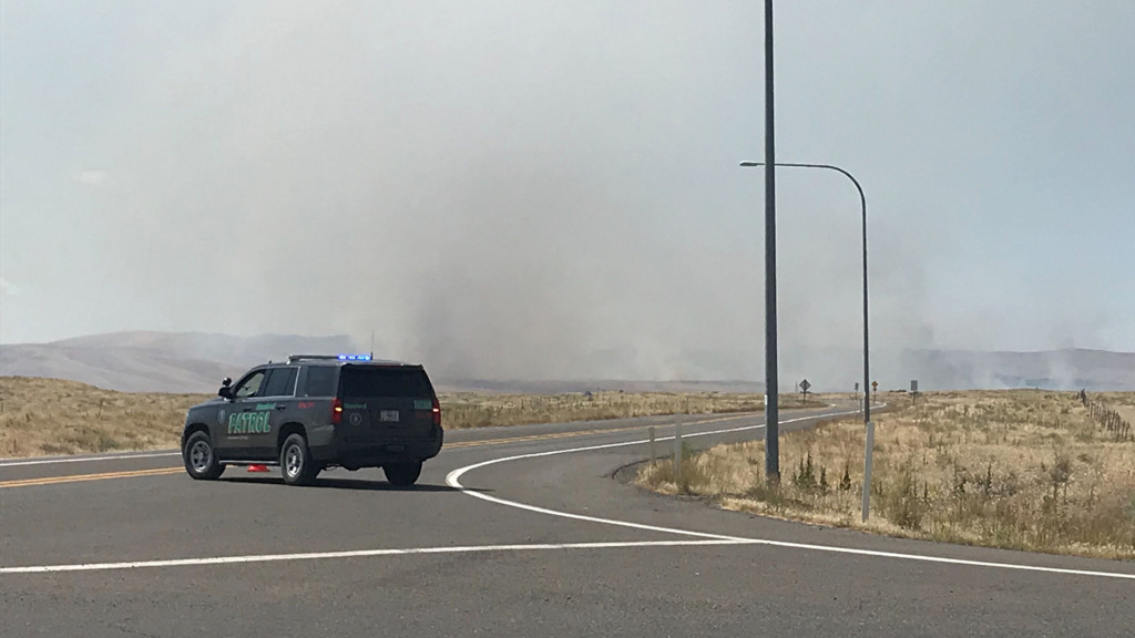 Cold Creek Fire in Benton Co. burns 42,000 acres, 80% contained