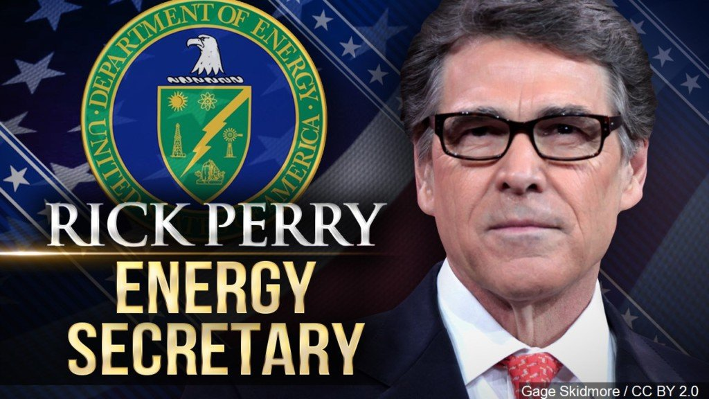U.S. Energy Secretary Rick Perry to visit Hanford site on Tuesday