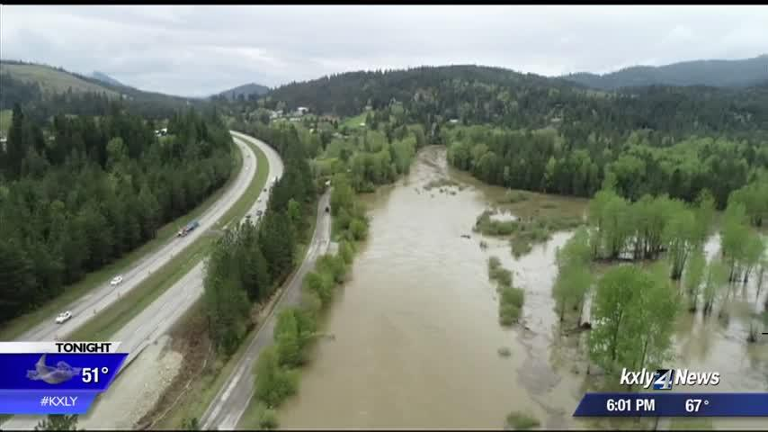River flooding affecting North Idaho residents