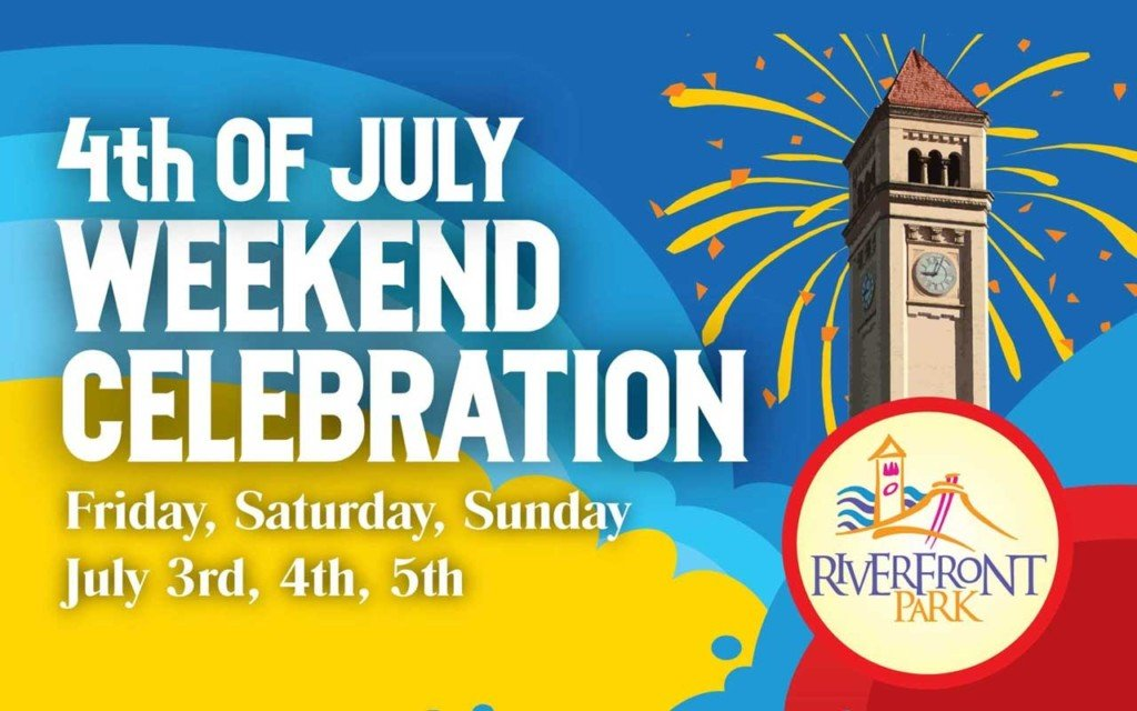 Riverfront Park to celebrate Fourth of July with three-day celebreation