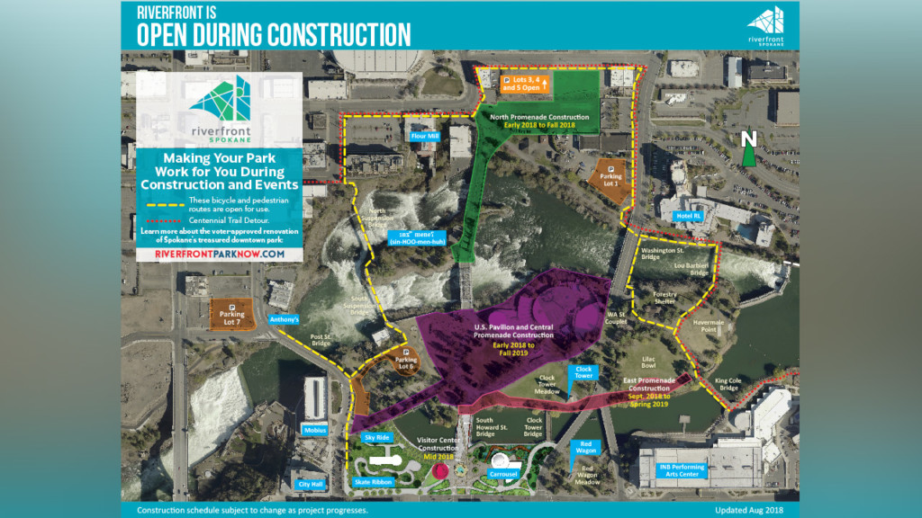 Riverfront Park redevelopment open house