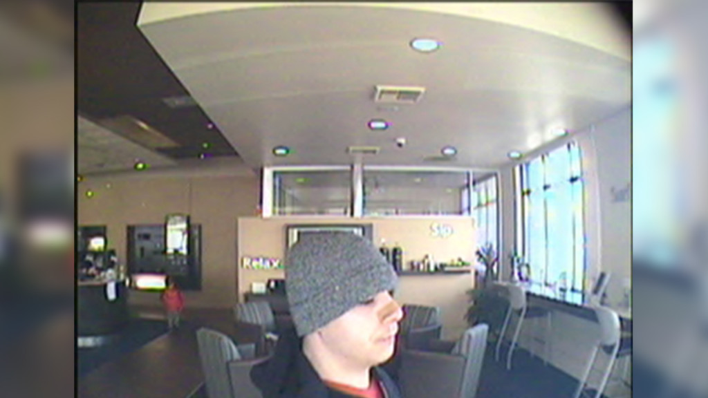 Reward offered for information leading to arrest of bank robbery suspect