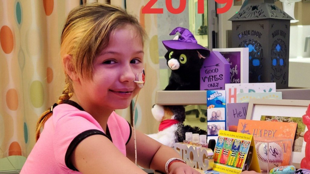 Young Coeur d'Alene girl battles leukemia for the second time