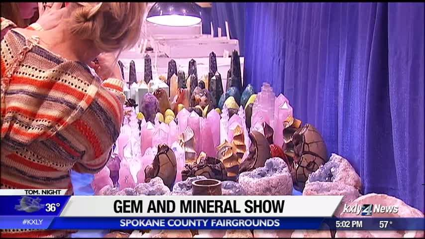 Rock hounds pack the fairgrounds for annual gem show