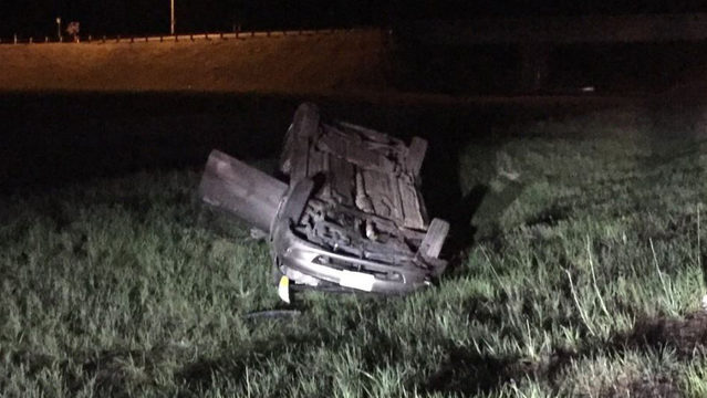 Elk responsible for 2 rollover crashes overnight on I-90, trooper says
