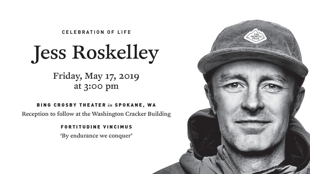 Celebration of life will honor Spokane alpinist