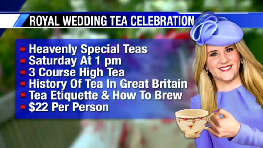 """Royal Tea"" event offers lessons on tea etiquette and the history of tea in England"