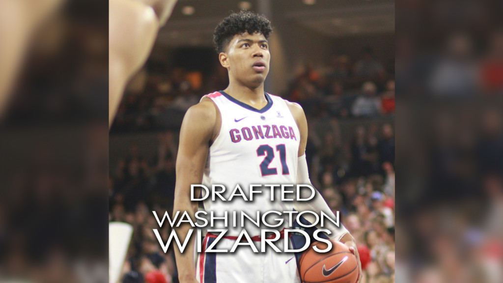 Rui Hachimura drafted ninth overall by the Washington Wizards