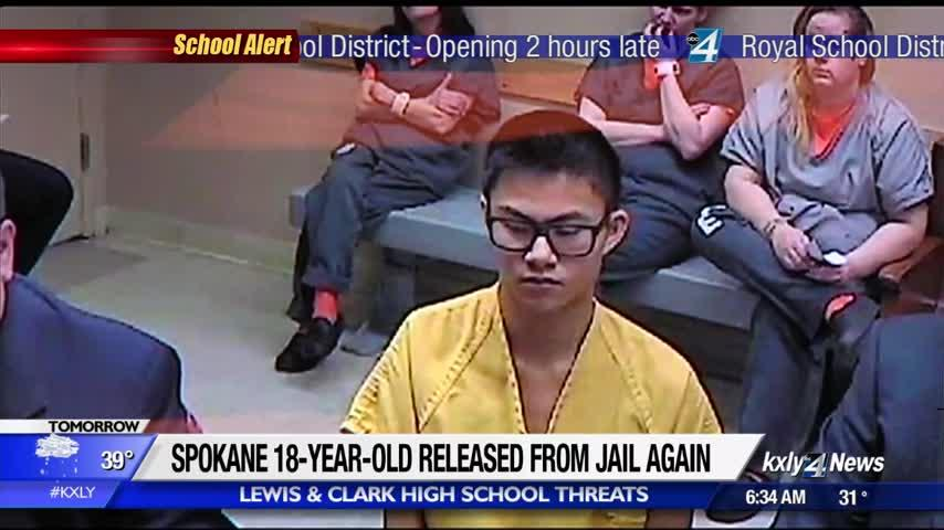 Teenager arrested three times in threat investigation now released from jail again