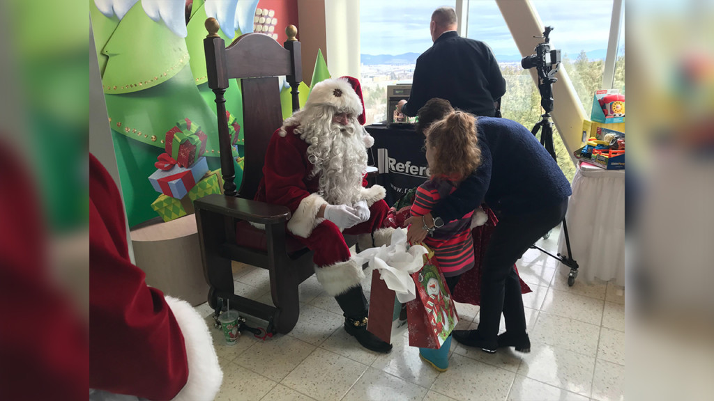 Community, firefighters help stock Santa Store at Providence Sacred Heart Children's Hospital