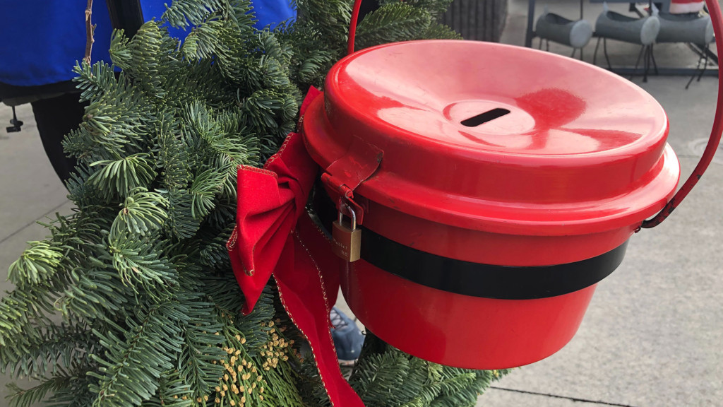 Salvation Army exceeds red kettle donation goal by over $50,000