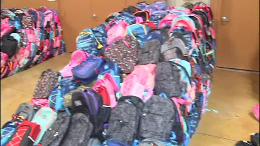 Fundraising for Backpacks for Kids is underway