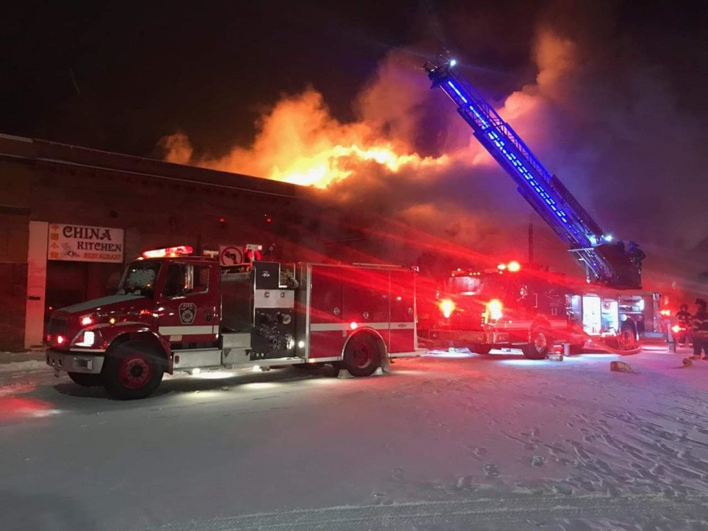 Five Sandpoint businesses lost and two damaged in massive fire