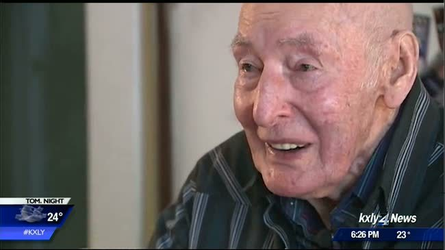 Sandpoint man celebrates 100th birthday