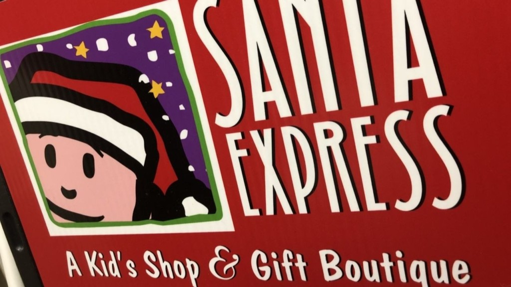 Kids can shop for the people on their holiday list this year at Santa Express