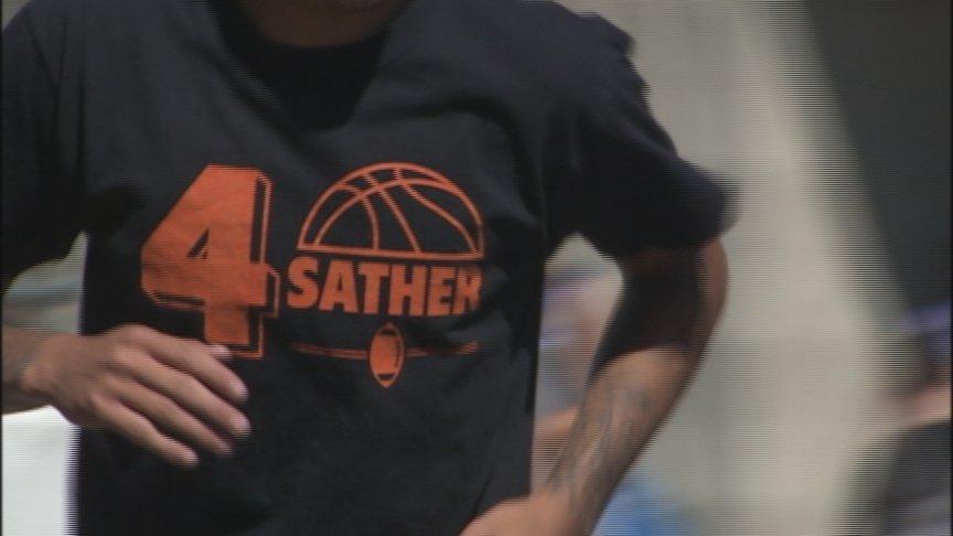 """""""He's our fourth"""" Collin Sather's memory honored by Hoopfest team"""