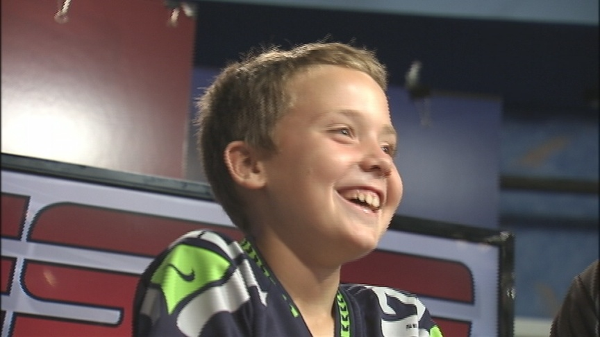 Sam Goes To Sportscaster Camp