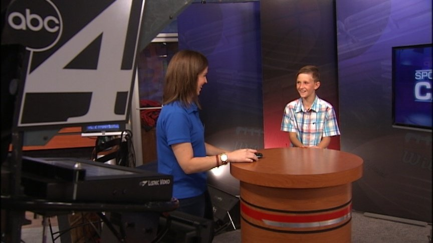James joins KXLY for Sportscaster Camp