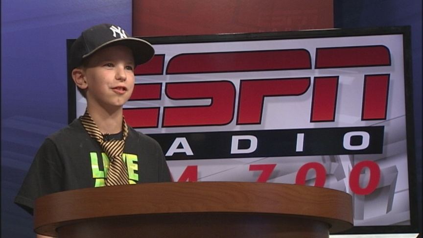 Zach Goes To Sportscaster Camp