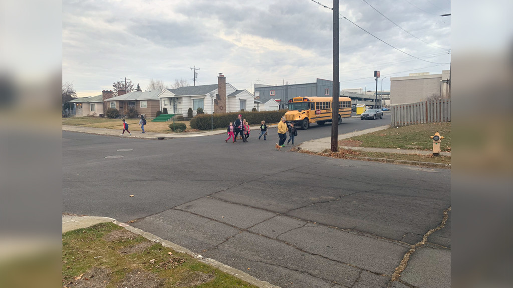 High-traffic bus stop raises concern for Spokane parent