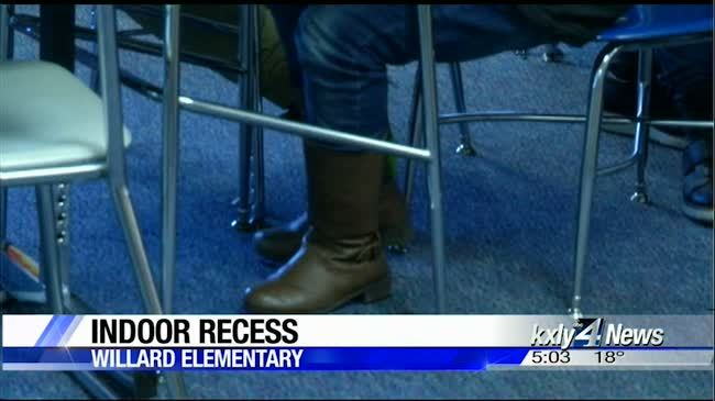 Schools move recess inside to protect kids from cold